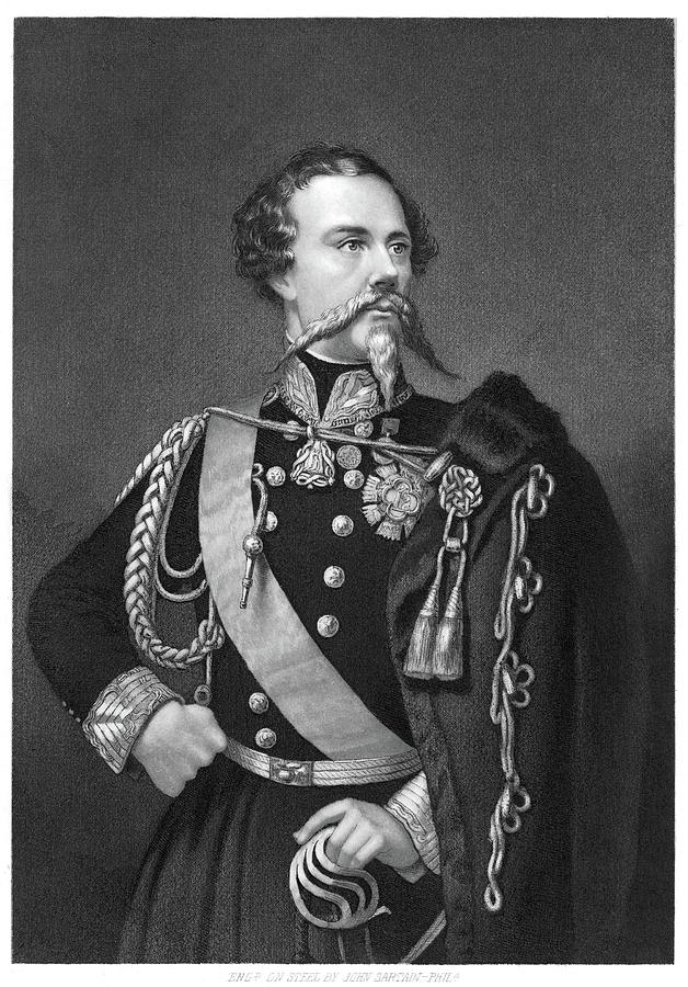 19th Century Painting - Victor Emmanuel II (1820-1878) by Granger