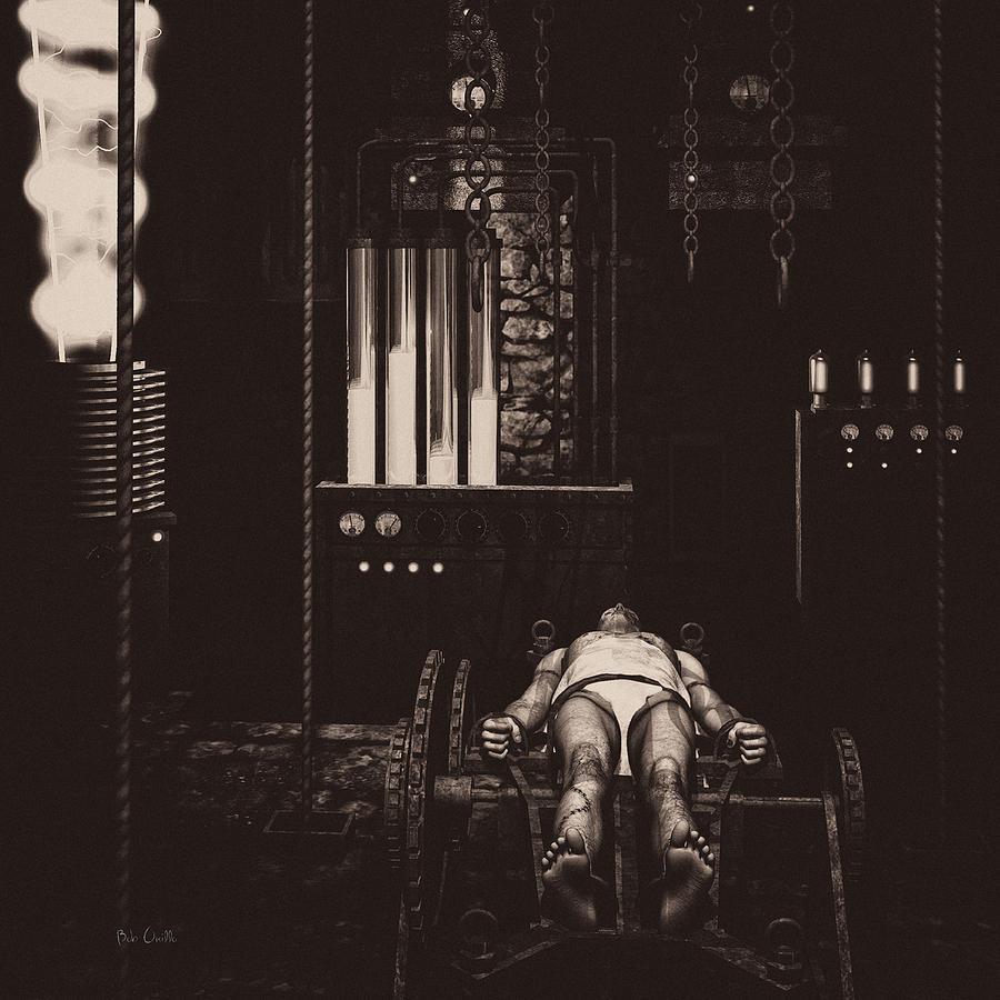 Frankenstein  - Victor Frankensteins Lab by Bob Orsillo