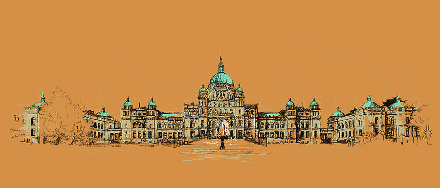 Vancouver Painting - Victoria Art 005 by Catf