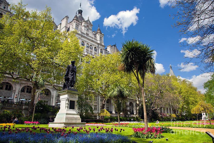 Landmark Photograph - Victoria Embankment Gardens In London Uk by Michal Bednarek