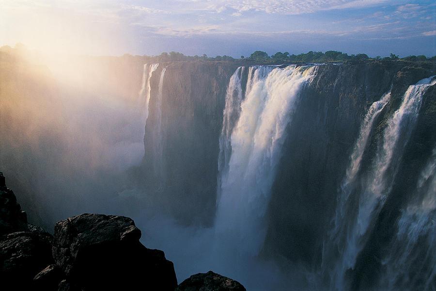 Victoria Falls Zimbabwe Africa By Natphotos