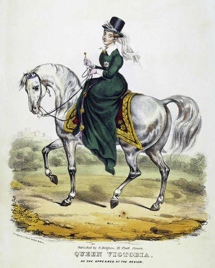 1837 Painting - Victoria Of England, C1837 by Granger