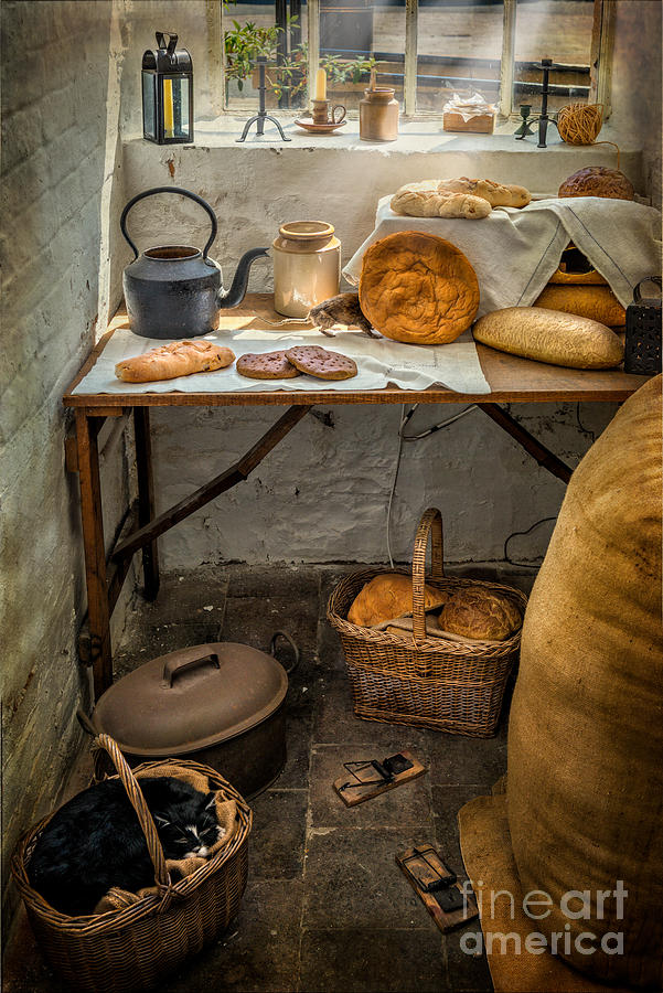 British Photograph - Victorian Bakers by Adrian Evans