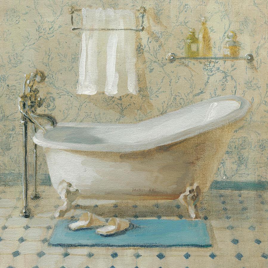 Bath Painting - Victorian Bath IIi by Danhui Nai