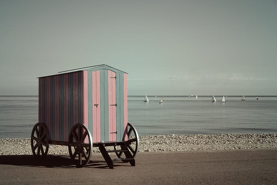 Victorian Bathing Machine Photograph By Mal Bray