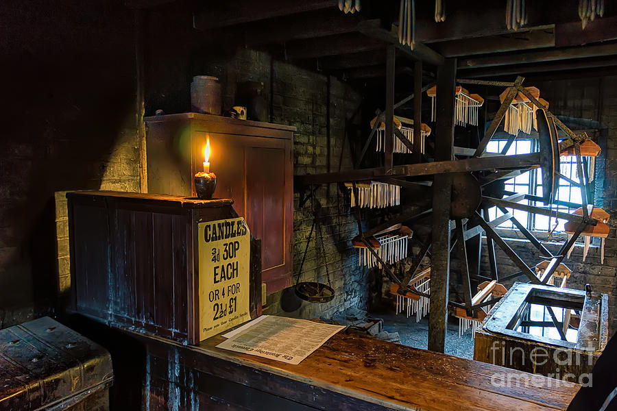 30p Photograph - Victorian Candle Factory by Adrian Evans