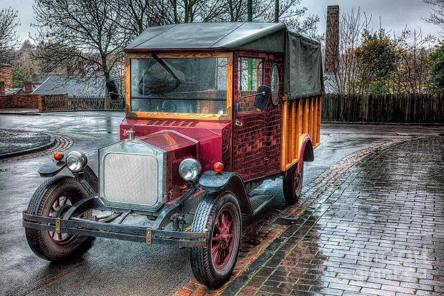 Bricks Photograph - Victorian Car Replica  by Adrian Evans