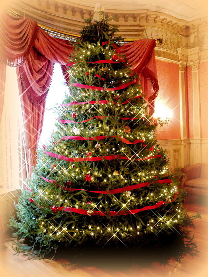 Victorian Christmas Tree.Victorian Christmas Tree