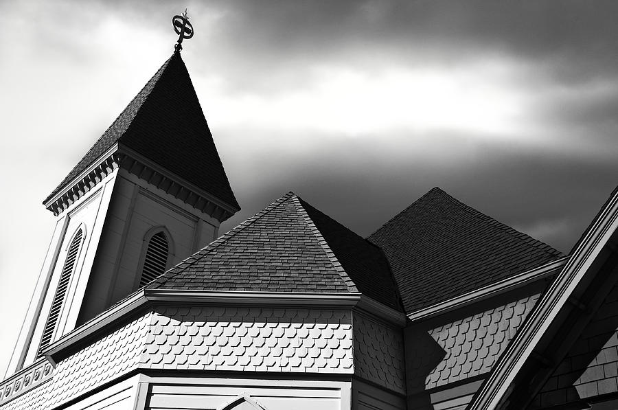 Architecture Photograph - Victorian Church by Larry Butterworth