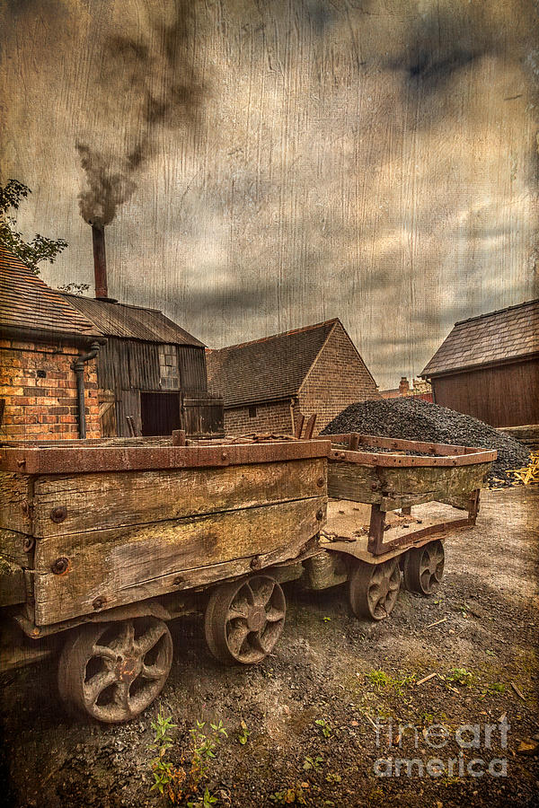 British Photograph - Victorian Colliery by Adrian Evans