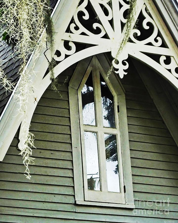 Victorian Gable St Francisville Louisiana Photograph By