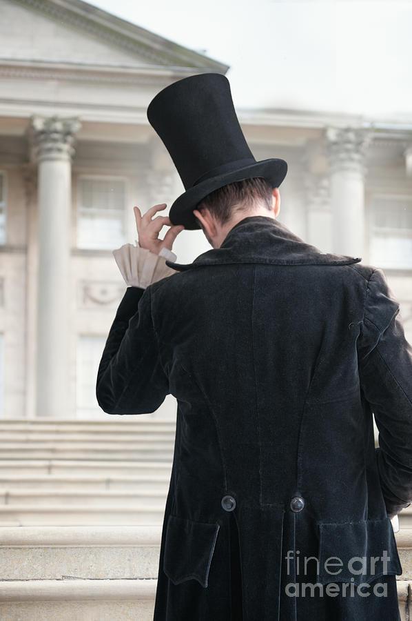 Victorian Gentleman Doffing His Top Hat Photograph By Lee