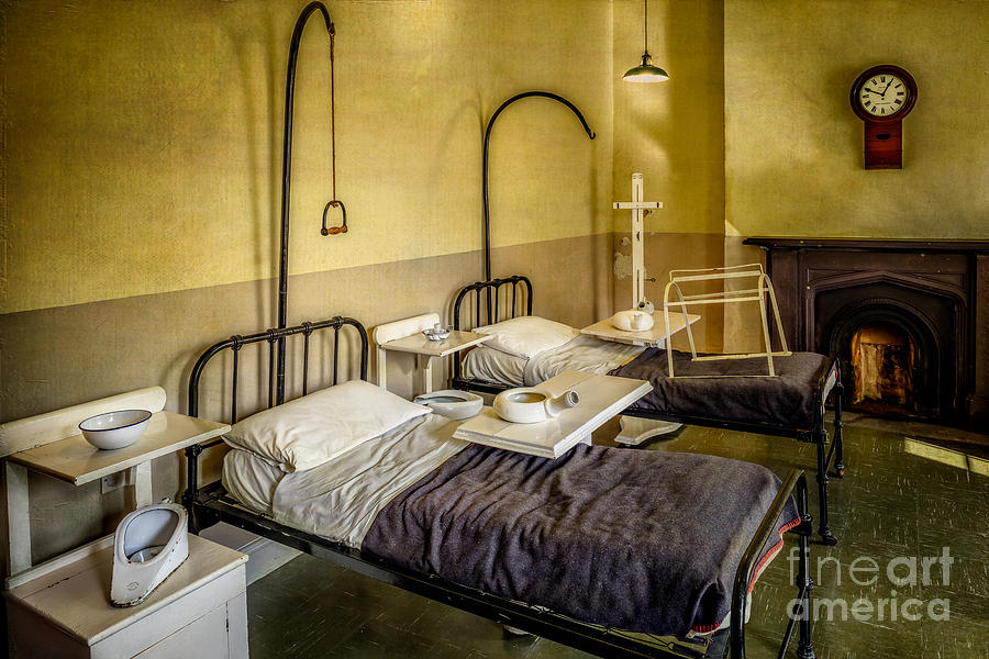 Victorian Hospital Ward Photograph By Adrian Evans