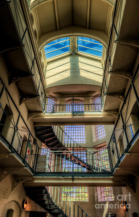 Architecture Photograph - Victorian Jail by Adrian Evans