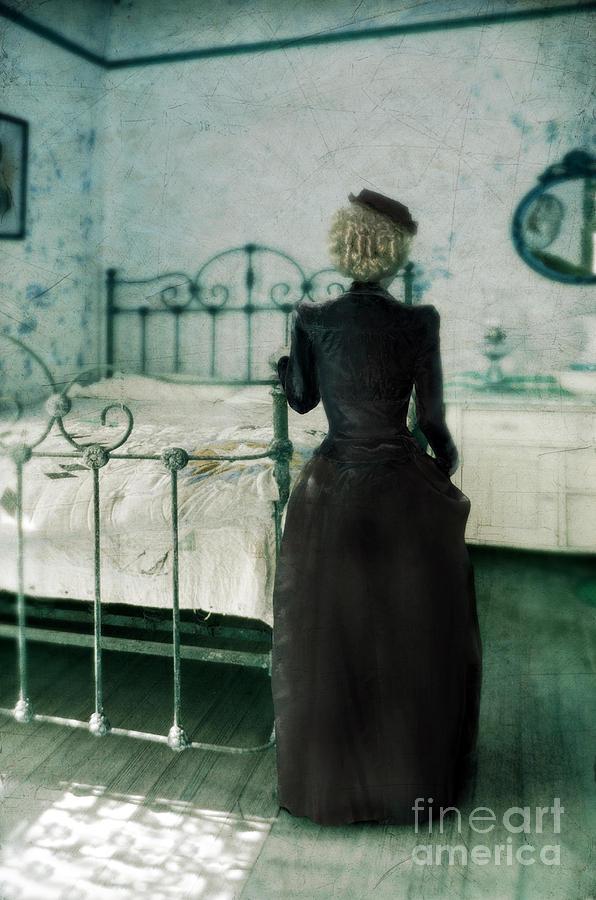 Victorian Lady In A Bedroom Photograph By Jill Battaglia