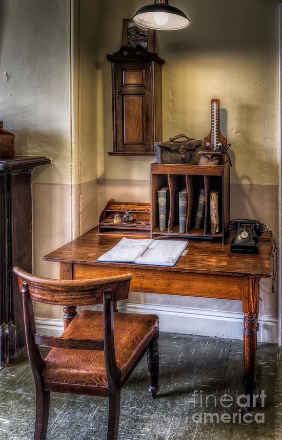 Victorian Photograph - Victorian Medical Office by Adrian Evans