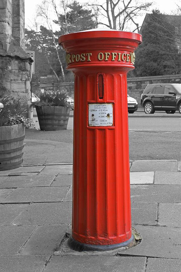 Victorian Post Box Photograph