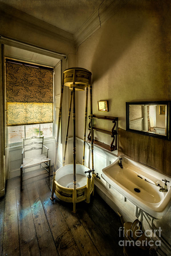 British Photograph - Victorian Shower by Adrian Evans