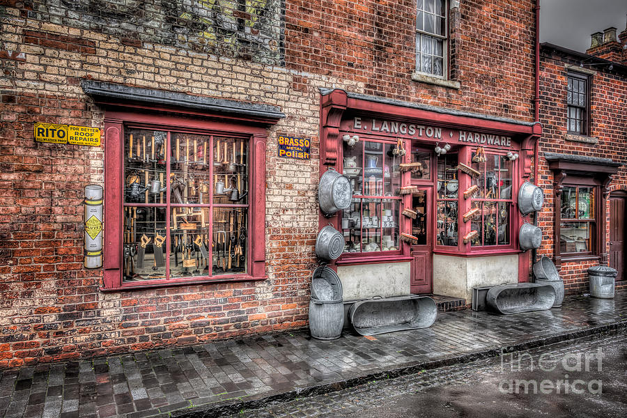 British Photograph - Victorian Stores England by Adrian Evans