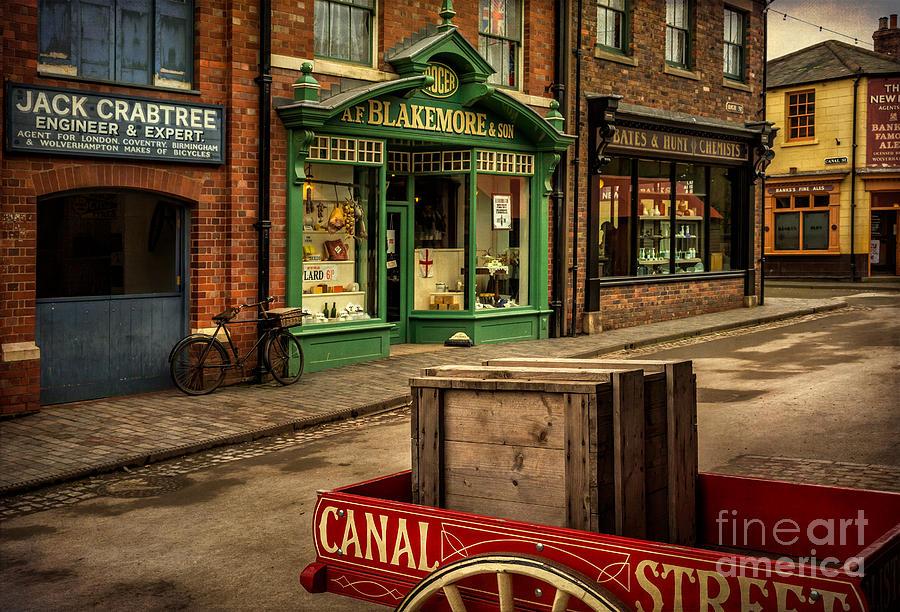 British Photograph - Victorian Town by Adrian Evans