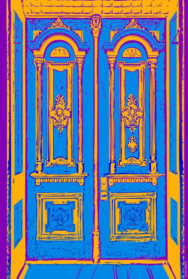 Victoriandoorpopart Digital Art