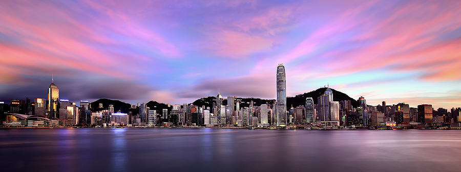 Victoric Harbour, Hong Kong, 2013 Photograph by Joe Chen Photography