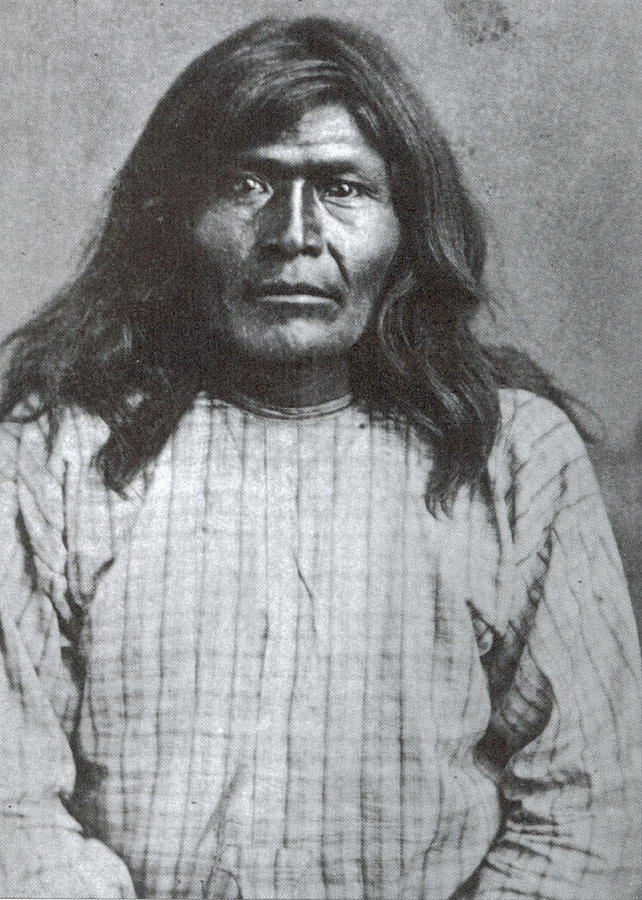 1877 Photograph - Victorio (1825-1880) by Granger