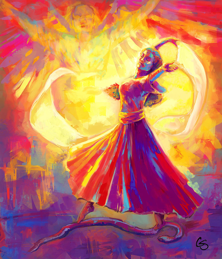 Victory Dance Painting By Tamer And Cindy Elsharouni