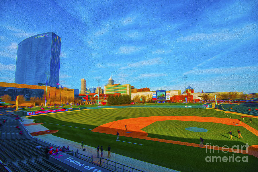 Victory Field Photograph - Victory Field 1 by David Haskett