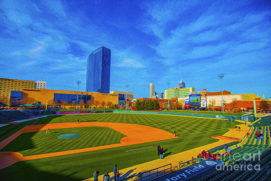 Victory Field Photograph - Victory Field 2 by David Haskett