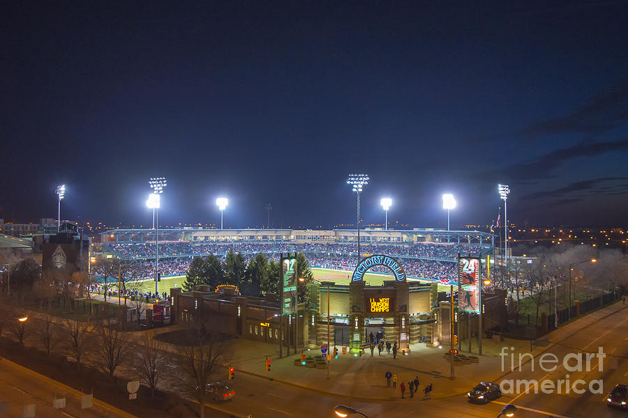 Victory Field Photograph - Victory Field 3 by David Haskett