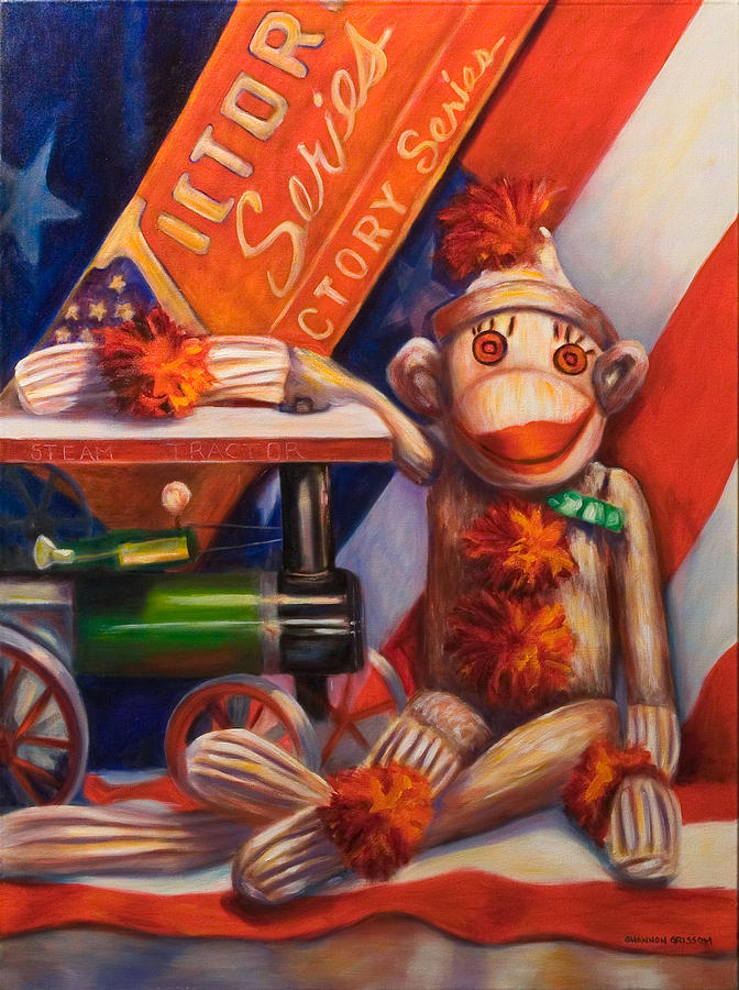4th Of July Painting - Victory by Shannon Grissom