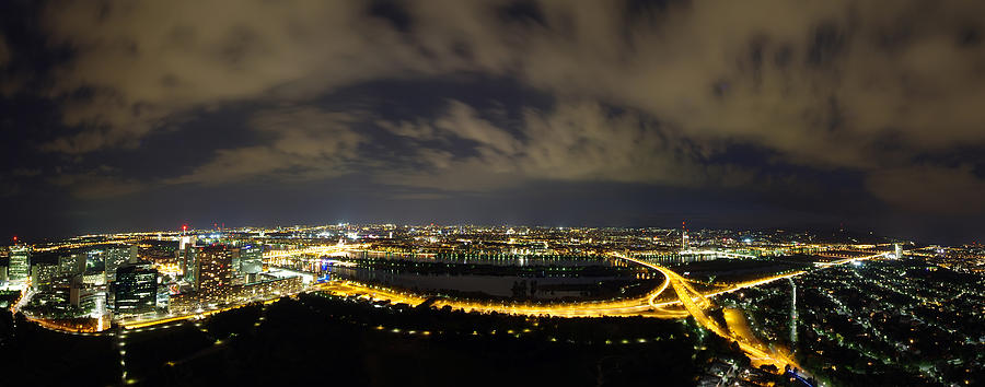 Vienna At Night Photograph by Ioan Panaite