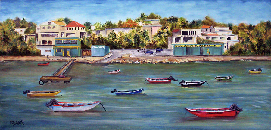 Vieques Painting - Vieques by Gloria E Barreto-Rodriguez