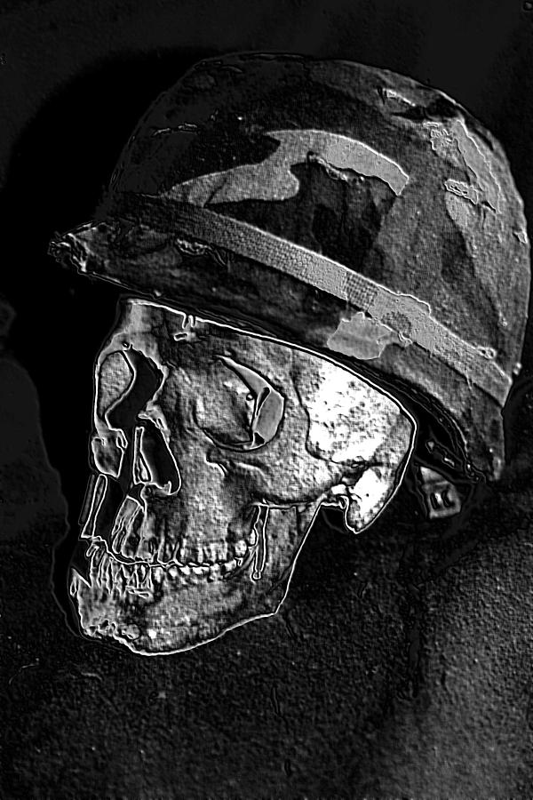 Vietnam Photograph - Vietnam - Forgotten War. by Ian  Ramsay