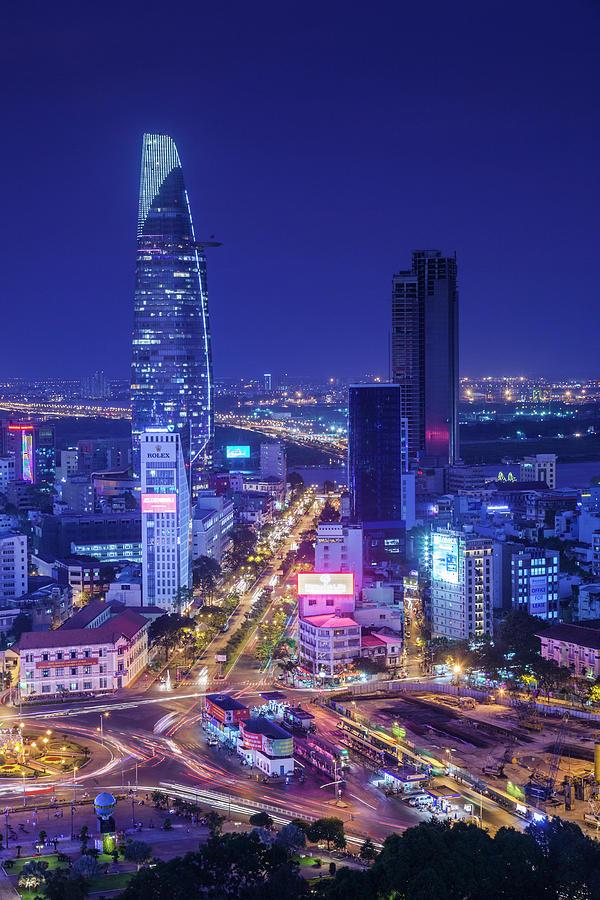 Asia Photograph - Vietnam, Ho Chi Minh City by Walter Bibikow