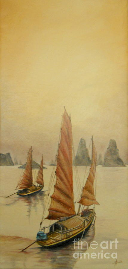 Vietnam Painting - Vietnam by Sorin Apostolescu