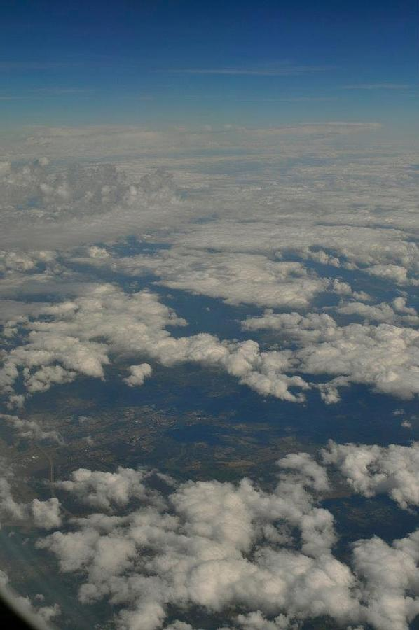 Clouds Photograph - View From Above by Brynn Ditsche