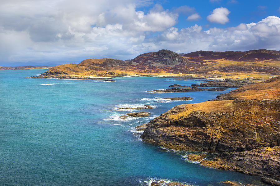 Sea Photograph - View From Ardnamurchan by David Hare