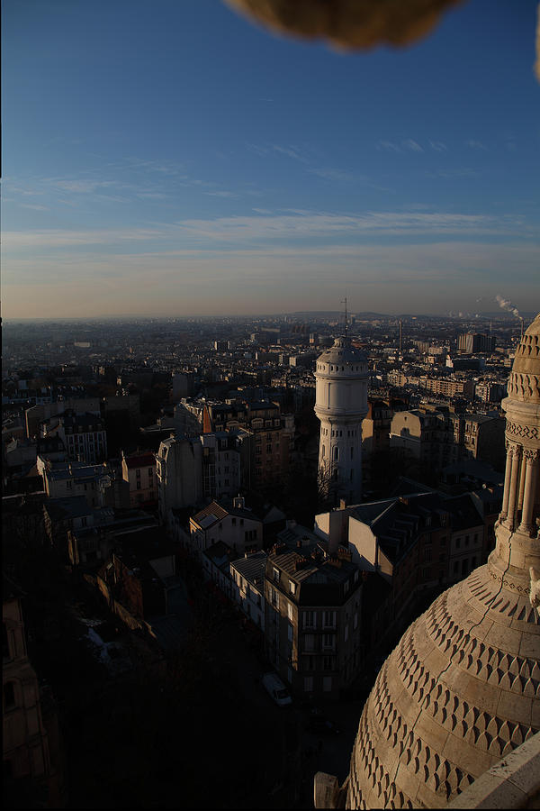 And Photograph - View From Basilica Of The Sacred Heart Of Paris - Sacre Coeur - Paris France - 011321 by DC Photographer