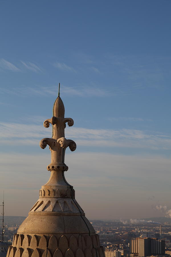And Photograph - View From Basilica Of The Sacred Heart Of Paris - Sacre Coeur - Paris France - 011323 by DC Photographer