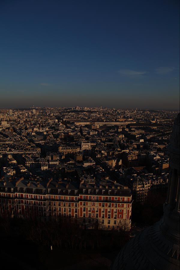And Photograph - View From Basilica Of The Sacred Heart Of Paris - Sacre Coeur - Paris France - 011329 by DC Photographer