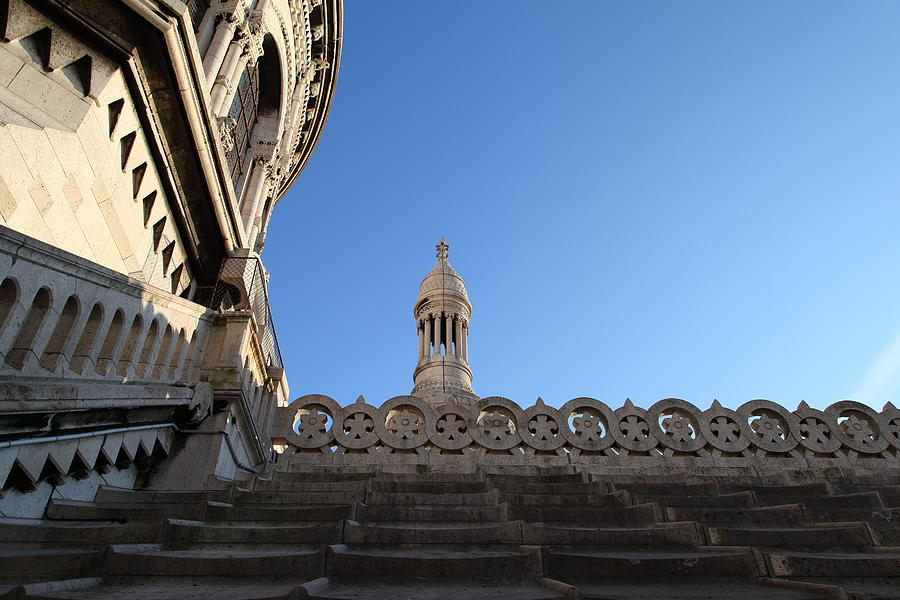 And Photograph - View From Basilica Of The Sacred Heart Of Paris - Sacre Coeur - Paris France - 01134 by DC Photographer