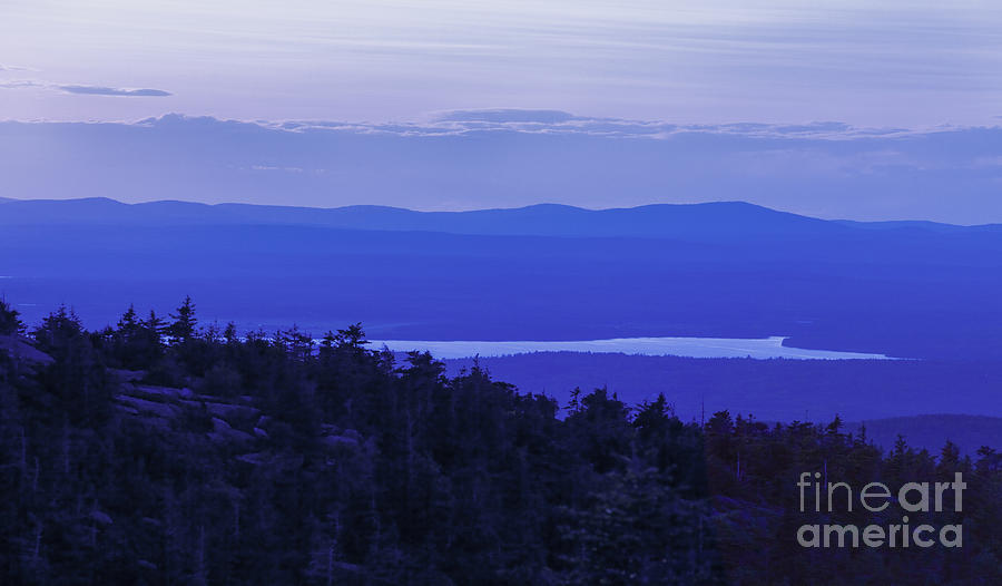 Maine Photograph - View From Cadillac Mountain by Diane Diederich