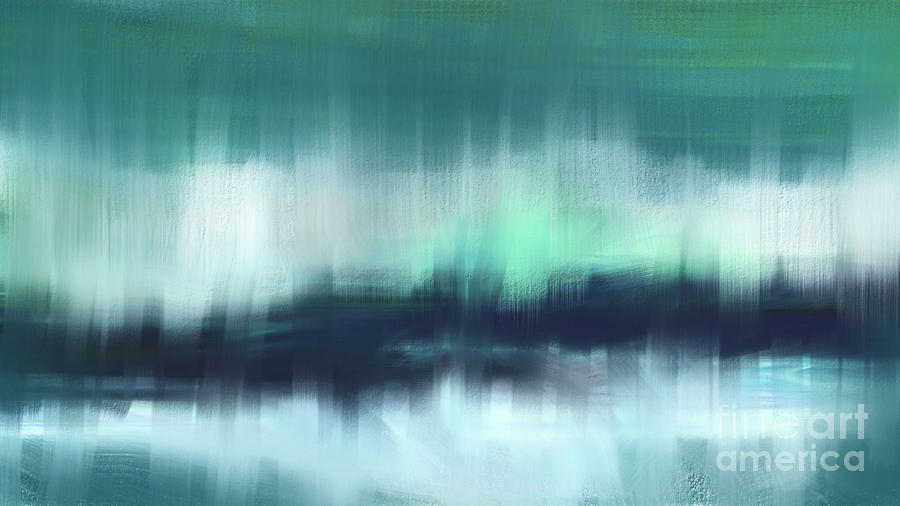 Abstract Painting - View From Far by Hilda Lechuga
