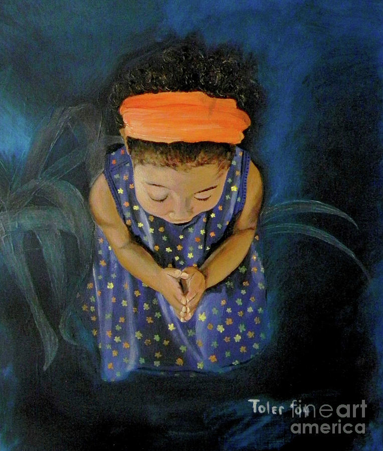 Prayer Painting - View From Heaven by Susan  Toler