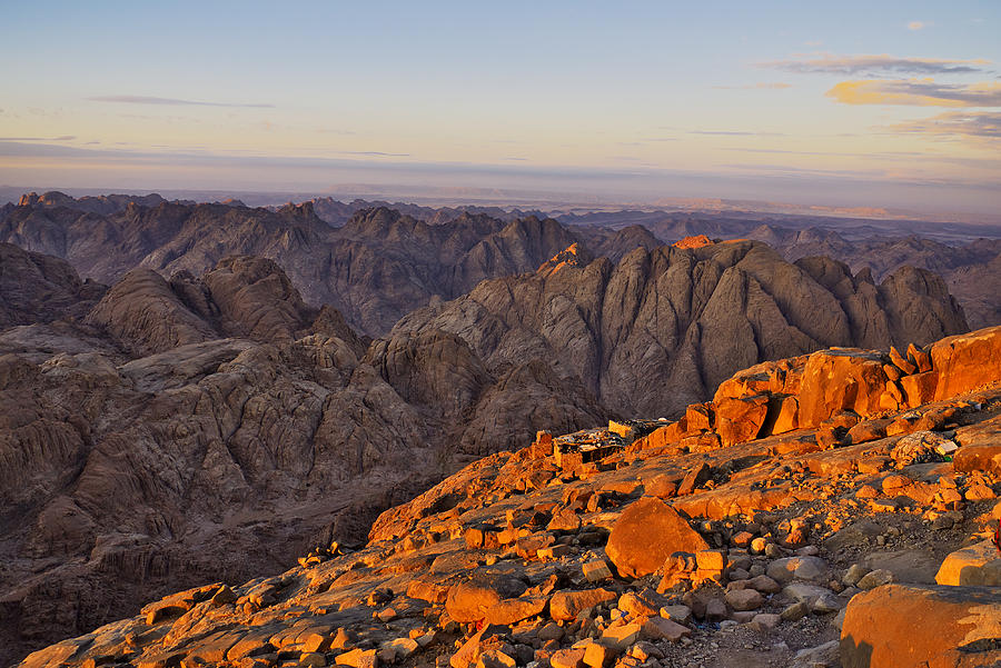 Egypt Photograph - View From Mount Sinai by Ivan Slosar