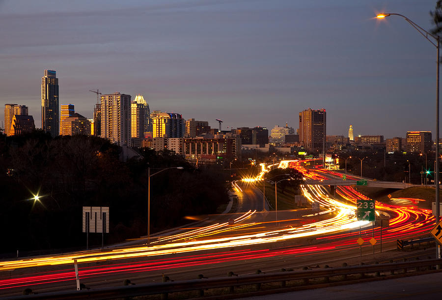 Austin Photograph - View From Sunnyvale by Mark Weaver