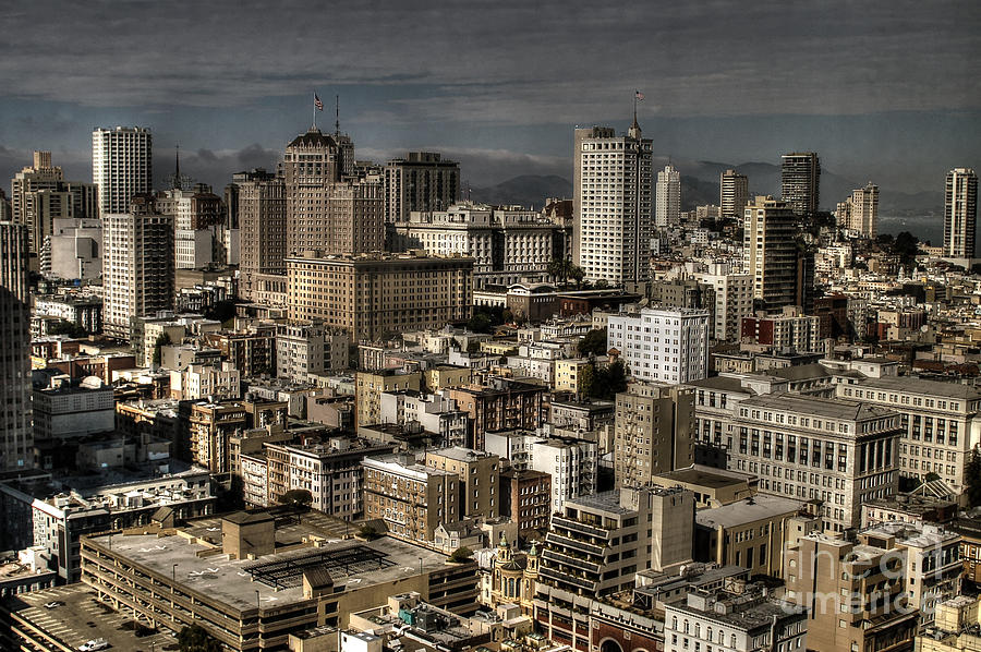 San Francisco Photograph - View From The 31st. Floor by Sylvia Blaauw