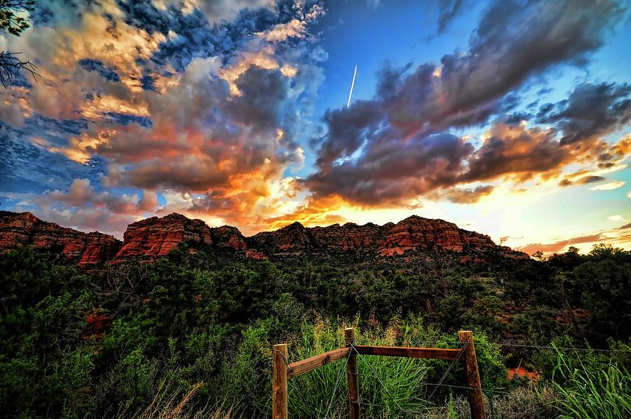 Arizona Photograph - View From The Fence  by Saija  Lehtonen